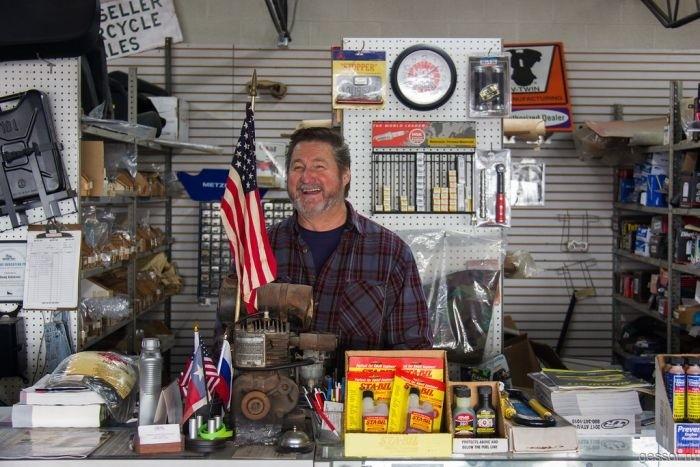 Как продают мотоциклы Урал в США