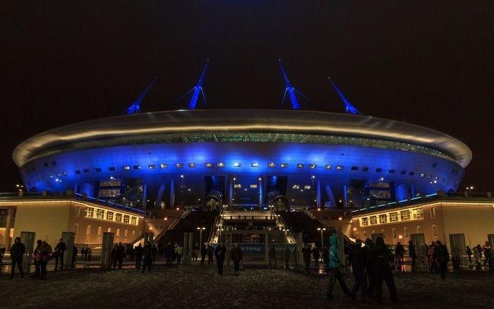 Открытие Зенит-арены на Крестовском острове