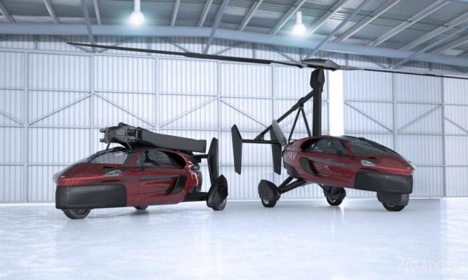 Открыт прием заказов на первый серийный аэромобиль (8 фото)