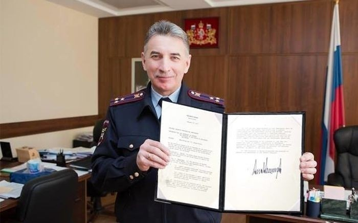 Фотожабы с начальником свердловского ГИБДД