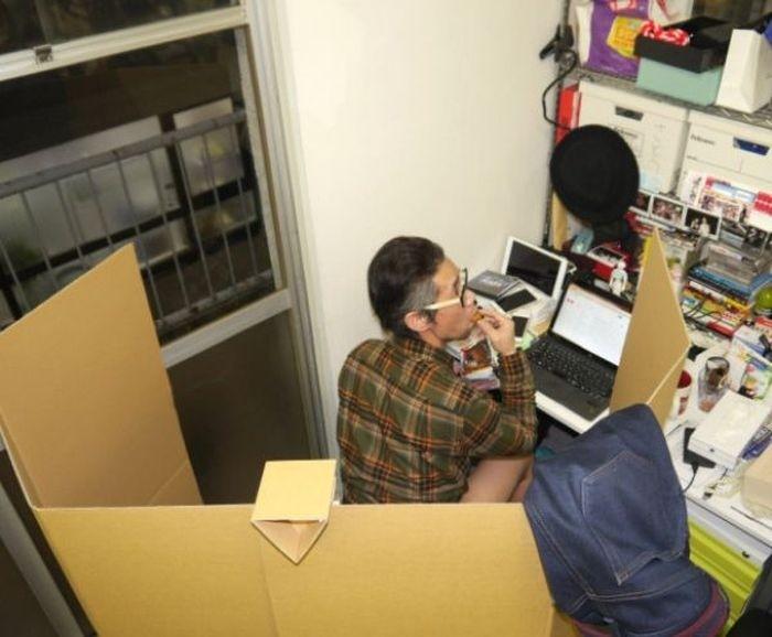 Картонный унитаз для вашего офиса