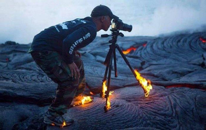 Фотографом быть нелегко