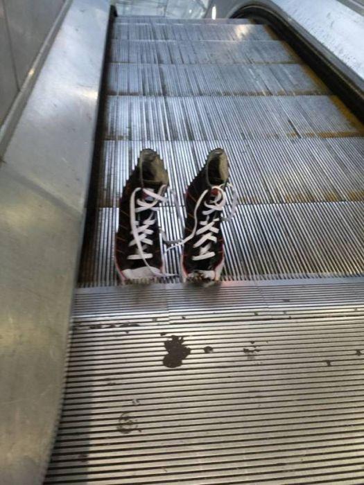 Остерегайтесь эскалаторов (17 фото)