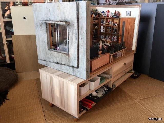 Реалистичная модель жилища гика-моделиста (12 фото)