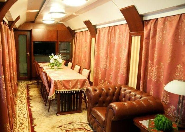 Премиум-вагоны Украинской железной дороги