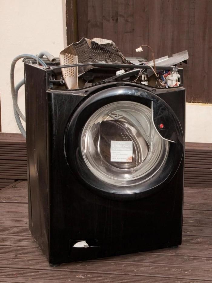 Чудовищные последствия взрыва стиральной машины