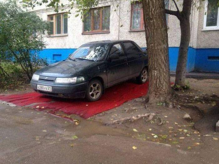 Фото, которые возможно было сделать только в России (41 фото)
