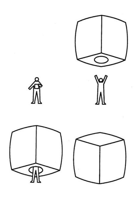 Этот куб может стать альтернативой палатке