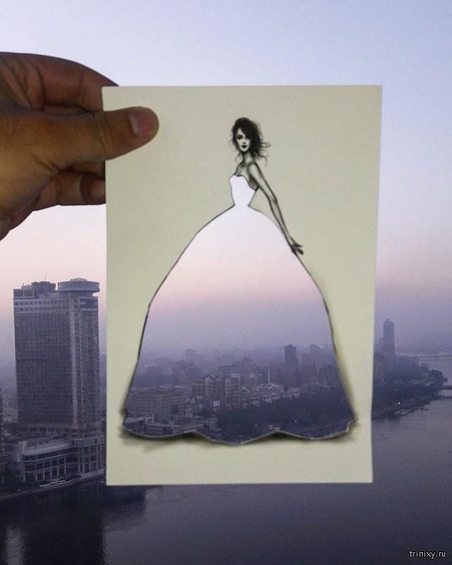 Необычные произведения одного дизайнера (9 фото)
