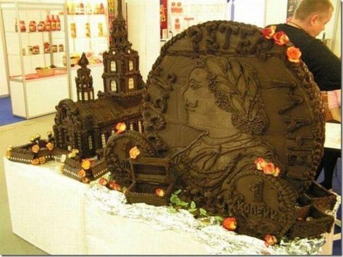 Чудеса из шоколада (10 фото)