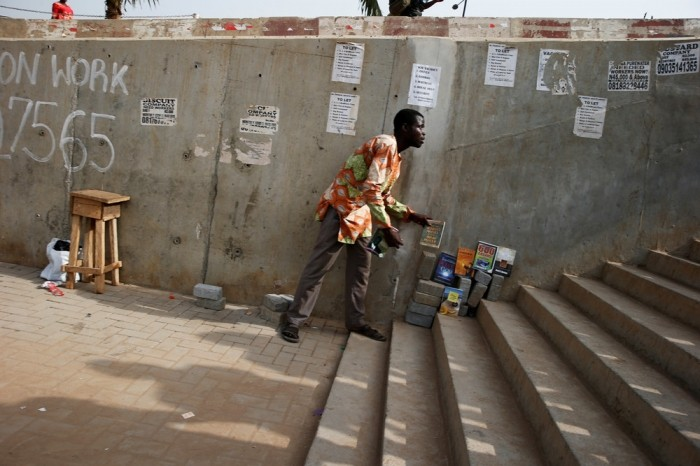 Снимки повседневной жизни в Нигерии