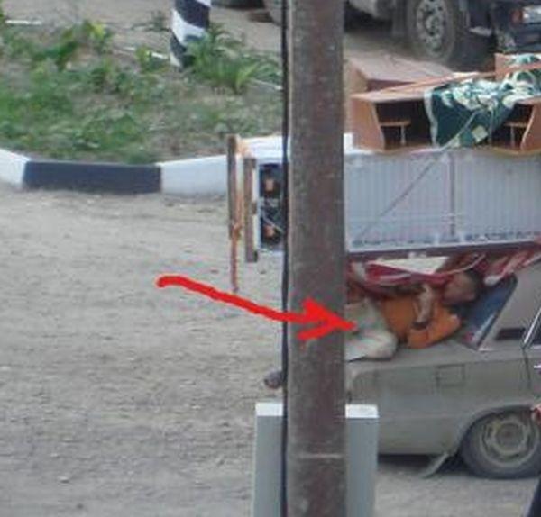 Суровая перевозка (4 фото)