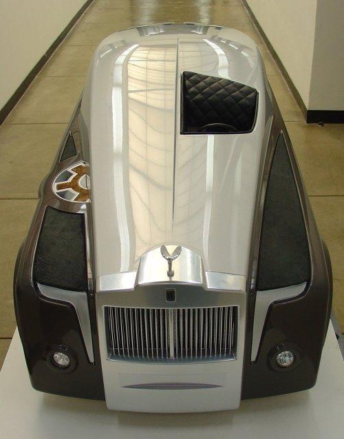 Rolls-Royce - призрак со школьного рисунка (17 фото)
