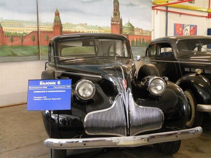 Автомобили Мосфильма (14 фото)