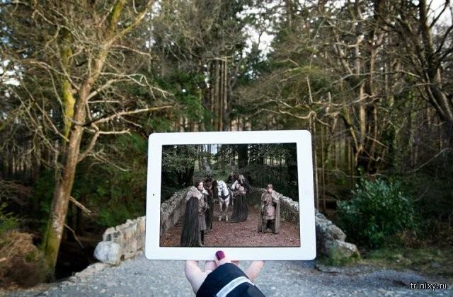 Прогулка по местам съемок известных кинофильмов и сериалов (14 фото)