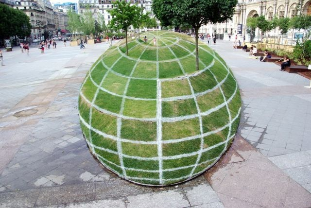 Крутая 3D иллюзия в Париже (5 фото)