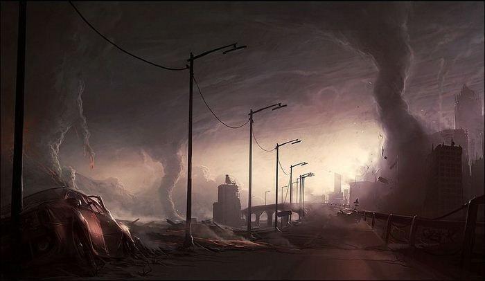 Шикарные рисунки конца света (36 фото)
