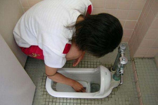 Урок труда в японской школе (6 фото)