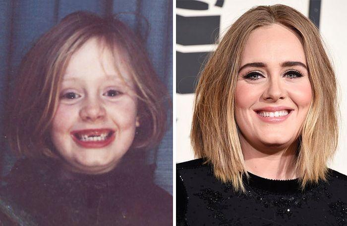 Редкие детские фото знаменитостей (20 фото)