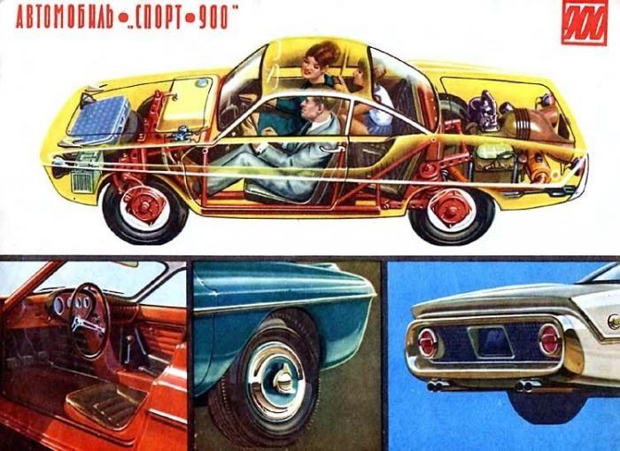 История купе ЗАЗ Спорт-900 (7 фото)