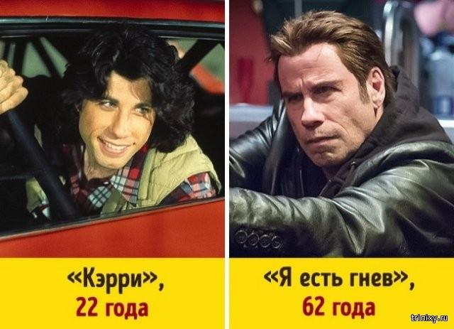 Как изменились всемирно известные актеры (10 фото)