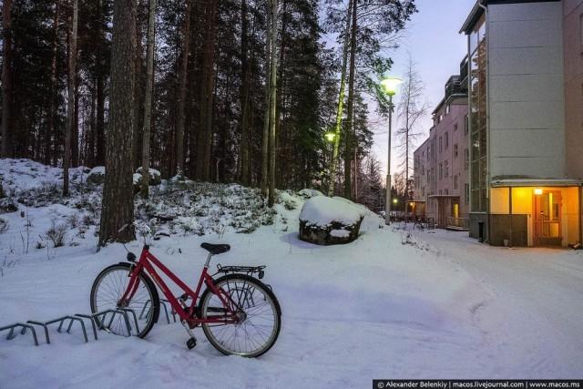 Как живут в спальных районах Финляндии (34 фото)