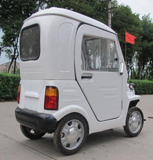 Даешь каждому китайцу по персональному автомобилю (4 фото)