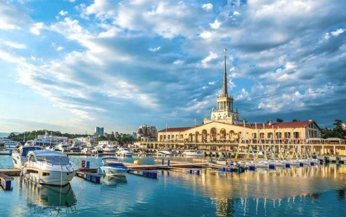 Любопытные факты о самом известном курорте России (5 фото)