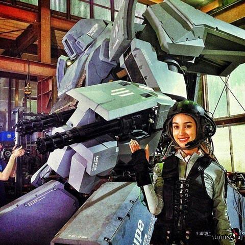 Впечатляющие боевые роботы со всего мира