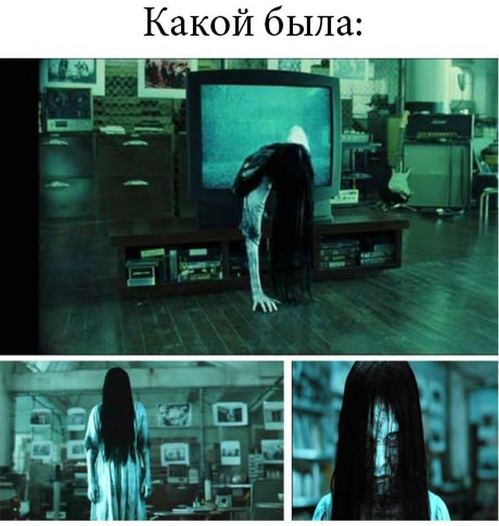 Девочка из фильма Звонок не такая уж и страшная (2 фото)