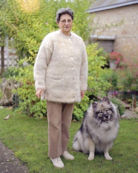 Последний писк моды свитера из шерсти собственной собаки (9 фото)