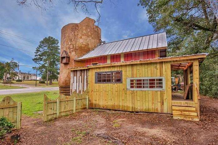 Американец построил дом в форме сапога (16 фото)