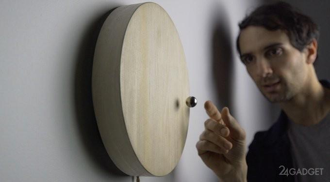 Настенные часы с магнитной левитацией (9 фото + видео)