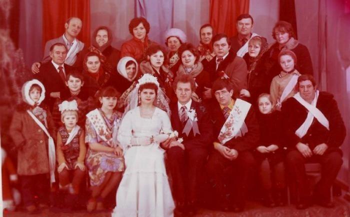 Советские свадьбы (24 фото)