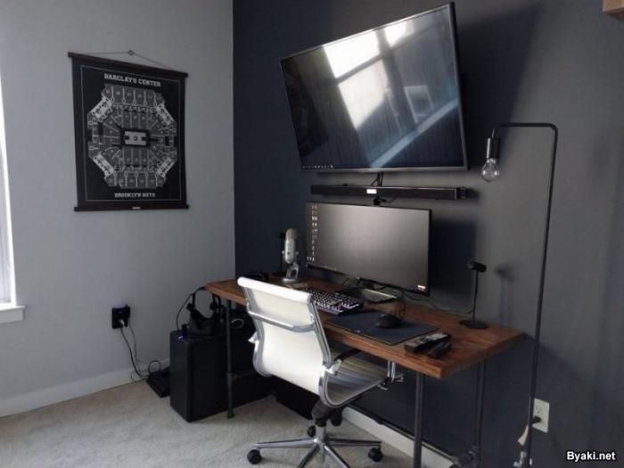 Классные рабочие места за компьютером (30 фото)