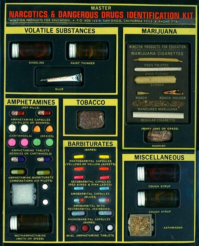 Каталог наркотиков из 60-х (5 фото)
