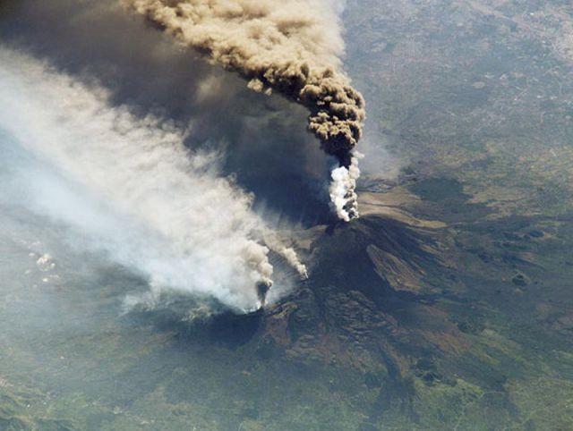 Огненная гора Этна (19 фото)
