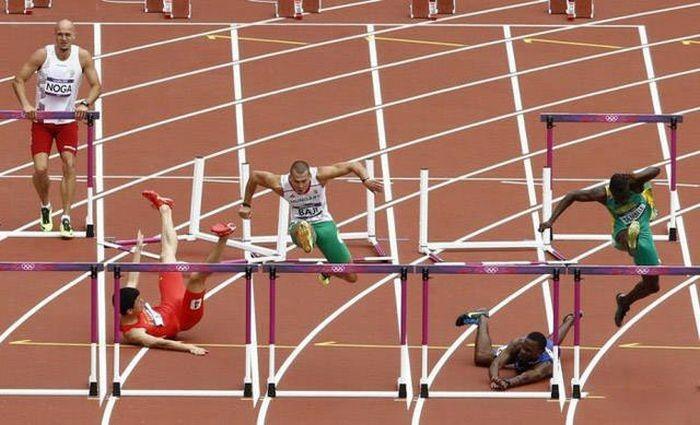 Забавные фото со спортивных соревнований (59 фото)