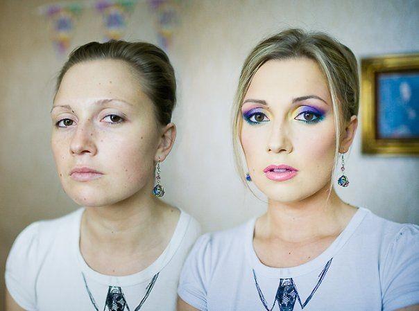 Чудеса макияжа (12 фото)