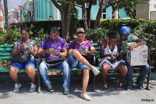 Как работает интернет на Кубе (8 фото)