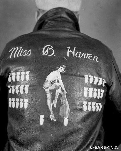 Куртки американских пилотов Второй мировой войны (27 фото)