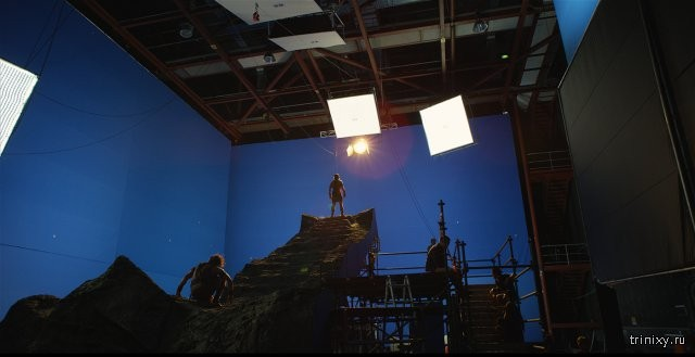 """Кадры из фильма """"Боги Египта"""" - до и после обработки (16 фото)"""