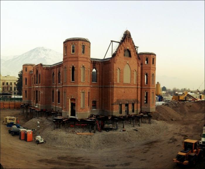 «Парящий» Храм (3 фото)