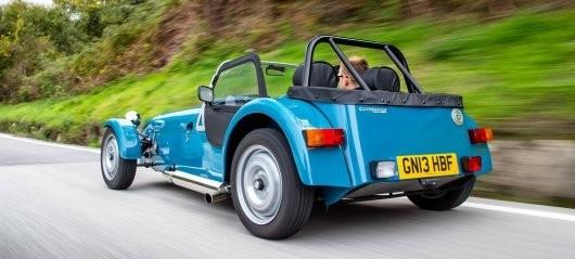 Авто - факт: Caterham Seven 160 выпускается и в наши дни