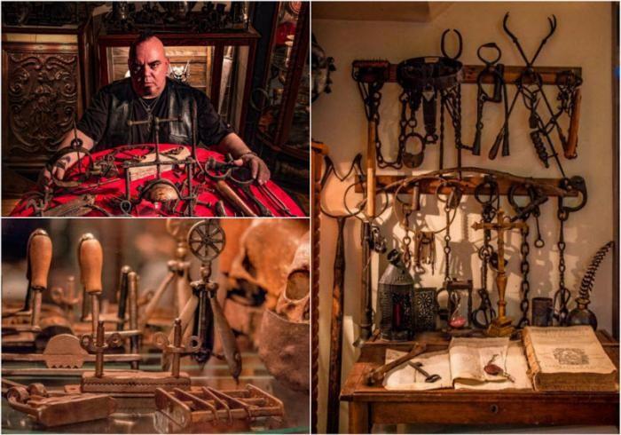 Удивительная коллекция орудий пыток (17 фото)
