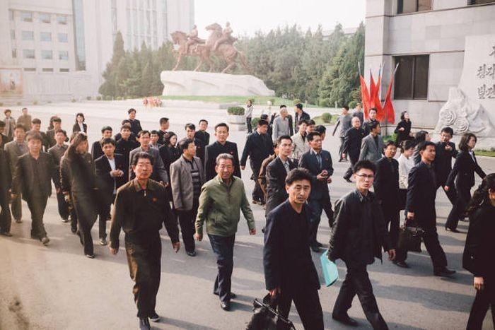 Разрешенные к показу за рубежом снимки Северной Кореи (40 фото)