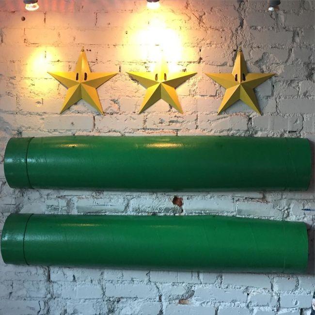 В Вашингтоне открылся ресторан в стиле игр про Марио (12 фото)