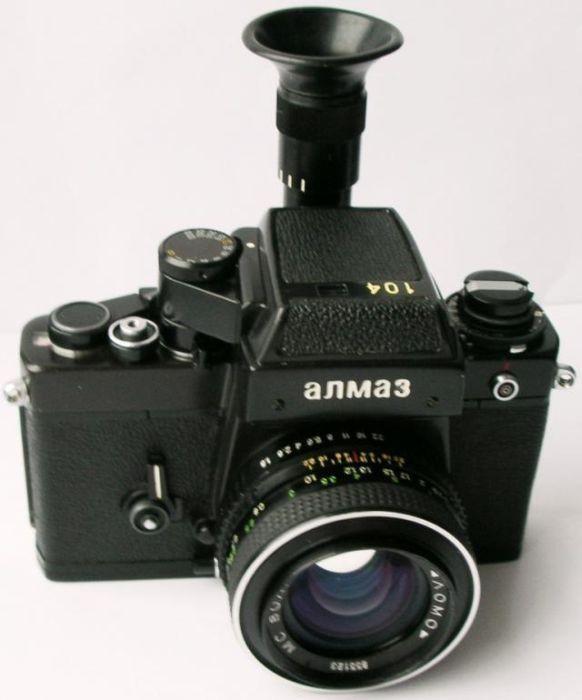 Советские фотоаппараты (19 фото)