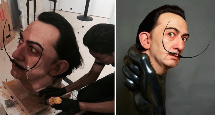 Невероятно реалистичные работы японского скульптора (9 фото)