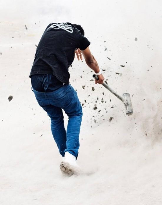 Фестиваль взрывных кувалд в Мексике (8 фото)